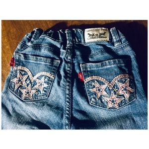 👛 Girls' Levi's Embroidered Denim Jegging 3-4YRS
